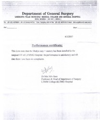 Department of General Surgery - Lokmanya Tilak Municipal Medical College and General Hospital