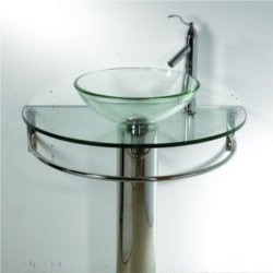 Glass wash basins wash basins sanitaryware fittings for Glass wash basin designs dining room