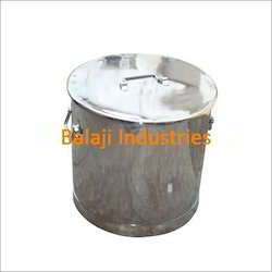 S.S. Storage Drums, Capacity: 0-50 litres