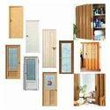 Corenet Brown Flush Door, For Home, Rectangle