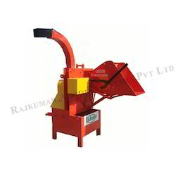 Tractor Model Wood Chipper with Feeding Roller